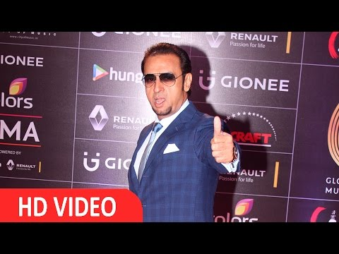 Gulshan Grover At Red Carpet Of GIMA Awards