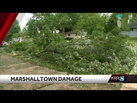 Central Iowa left with widespread damage following destructive storms