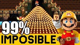 Video MARIO ULTRA INSTINTO (SPEEDRUNS) - 99% IMPOSIBLES #65 | Super Mario Maker - ZetaSSJ MP3, 3GP, MP4, WEBM, AVI, FLV November 2018