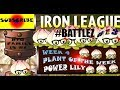 pvz 2 How to win the New iron league #BATTLEZ wk 4 power lily plant of the week PRO TIPS in HD #13