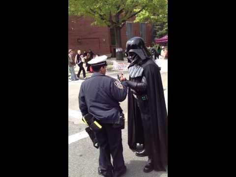 Darth Vader Vs Traffic Cop