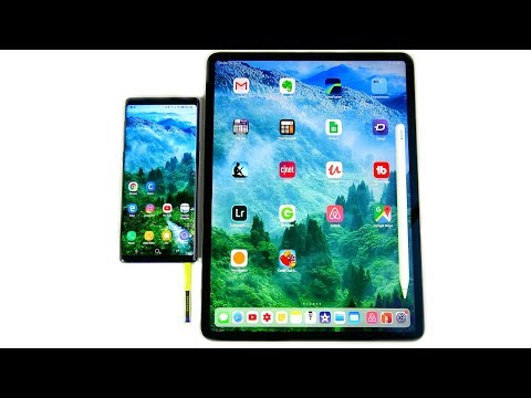 Video Why Galaxy Note 9 is better than 2018 iPad Pro? download in MP3, 3GP, MP4, WEBM, AVI, FLV January 2017