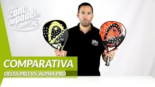 video Comparativa palas Head Delta Pro VS Alpha Pro