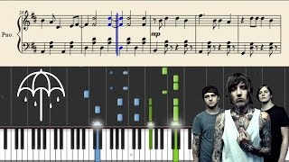 Bring Me The Horizon - Drown - Piano Tutorial + Sheets