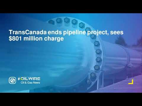 TransCanada ends pipeline project, sees $801 million charge
