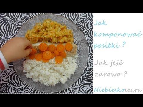 Jak komponować posiłki- zdrowe odżywianie- Niebieskoszara