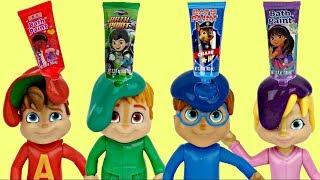 Video ALVINNN!!! & THE CHIPMUNKS: Bath Fingerpaint Tub Time Orbeez Toy Surprises MP3, 3GP, MP4, WEBM, AVI, FLV Januari 2019