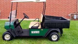 9. Super Clean Heavy Duty MPT 1000E Utility Vehicle / Golf Cart with Dump Box