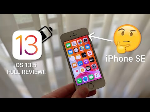 iOS 13.5 On the iPhone SE FULL REVIEW! || Should You Update?