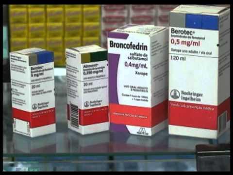 Remédios de asma