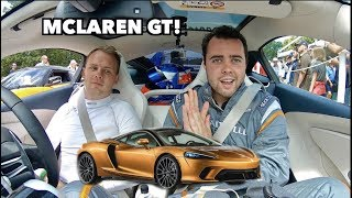 FIRST DRIVE IN THE NEW MCLAREN GT! *It's Amazing* by Vehicle Virgins