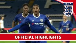 Video Chelsea 7-1 Spurs - 2016/17 FA Youth Cup semi-final Second Leg | Official Highlights MP3, 3GP, MP4, WEBM, AVI, FLV Januari 2019