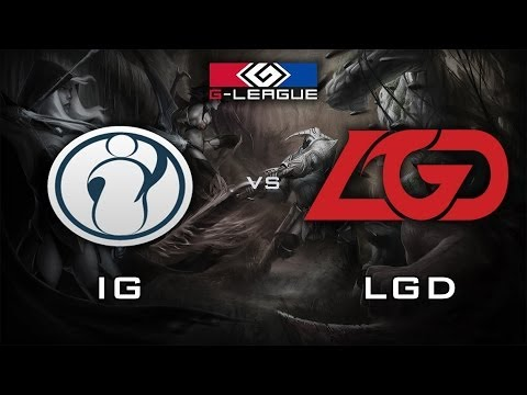 IG vs LGD Teamfight | G-League 2013