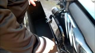 8. 2012 kawasaki klr650 with ammo can panniers