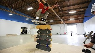 Video THE BRAILLE HOUSE HIGH OLLIE CHALLENGE! MP3, 3GP, MP4, WEBM, AVI, FLV Agustus 2017