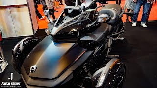 8. (HD)Can-Am SPYDER F3-S カンナム スパイダーF3S - ��屋モーターショー2017
