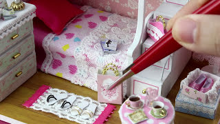 DIY Miniature Dollhouse Kit With Working Lights