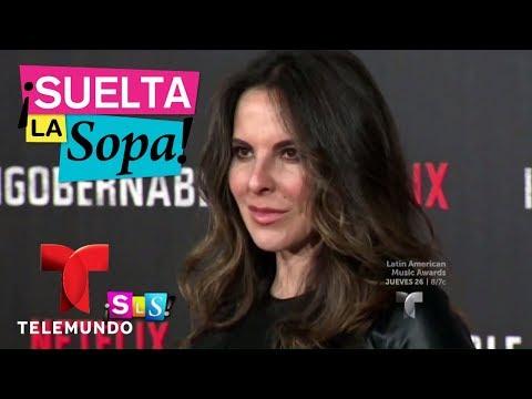 Notícias dos famosos - Verónica del Castillo cuenta por qué Sean Penn está fuera de la serie  Suelta La Sopa  Entreteni