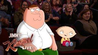 Video Jimmy Kimmel Talks to Peter & Stewie Griffin from Family Guy MP3, 3GP, MP4, WEBM, AVI, FLV Juni 2018
