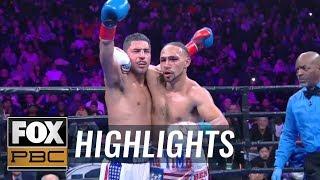 Full 12th round of Keith Thurman vs. Josesito Lopez   HIGHLIGHTS   PBC ON FOX