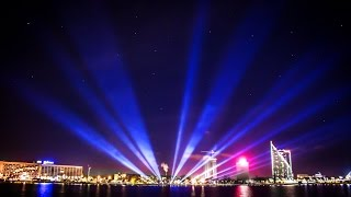 Incredible 4K HD Light Festival Timelapse Photography Video In Riga, Latvia ''Staro Rīga''
