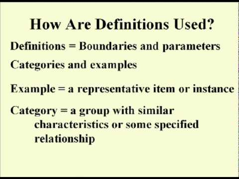 ENG 352 Technical Writing - 13 - Definition Valid Gute