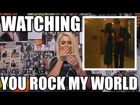 WATCHING YOU ROCK MY WORLD // ASHLEY'S COMMENTARY