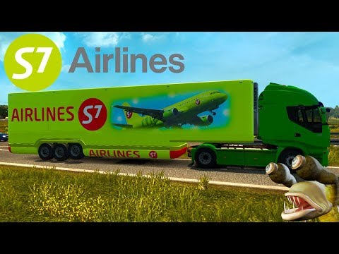Trailer Pack AeroDinamic World Airways v1.0