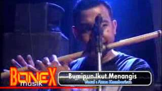 Bumipun Turut Menangis (Ana komborista)BONEX MUSIC