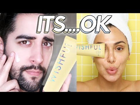 WISHFUL - YO GLOW ENZYME SCRUB - Huda Beauty First Impressions / Review ✖  James Welsh