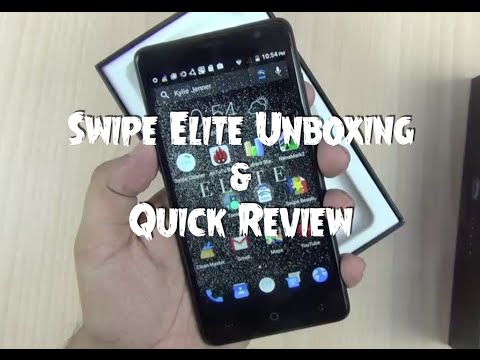 Swipe Elite Unboxing and Hands on Quick Review