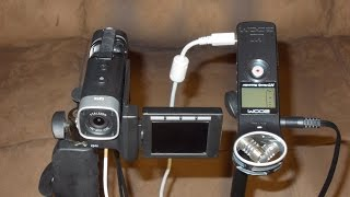 Download Lagu The Zoom H1 as an External mic for the Q4 Mp3