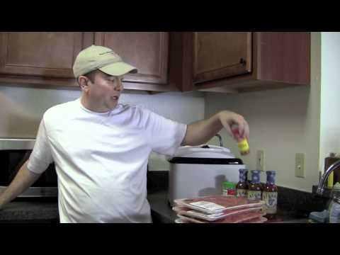Cooking With Frank: Beef Jerky With A Machine That Works!
