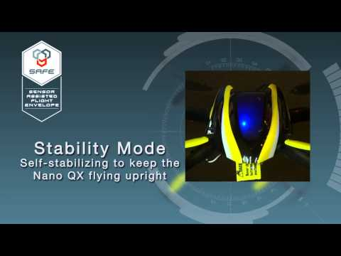 видео: Квадрокоптер Blade Nano QX (технология SAFE)