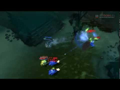 Dota 2 Battle   Sniper vs Traxex