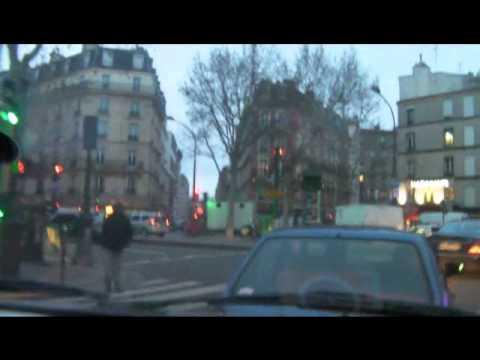 Paris By Car-(Sacre Coeur-Porte d'Aubervilliers)