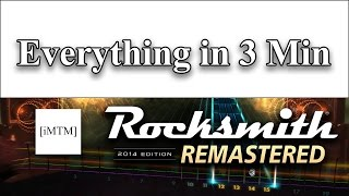This video is everything you need to know about rocksmith 2014 remastered - all explained in 3 minutes or less. Now, this isn't...