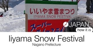 Iiyama Japan  city photos gallery : Japan, How it is - Iiyama Snow Festival
