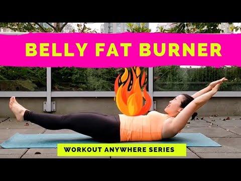 4 Minute Belly Fat Burner Workout