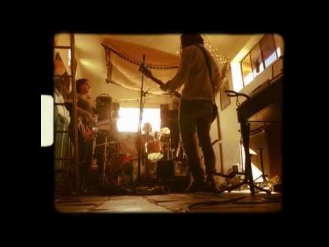 In the Studio: RedRacer.  Studio: Rancho De La Luna, Joshua Tree, California.