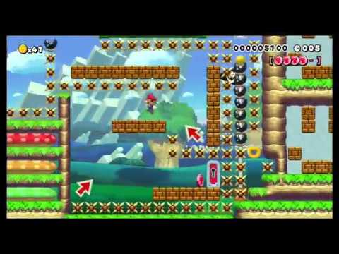 Speed Run 2% - Playing fun Super Mario Maker levels