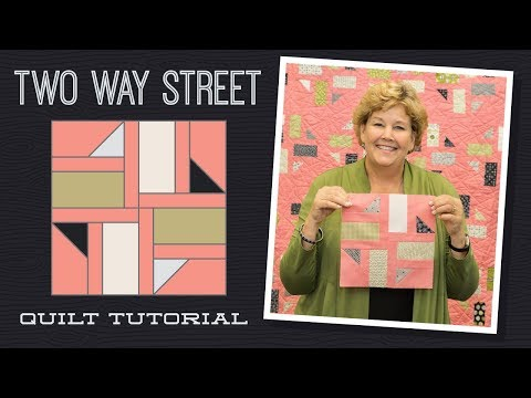 """patchwork - blocco """"two way street"""""""