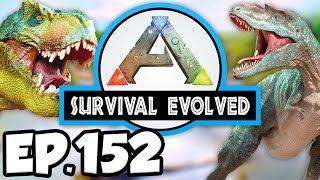 ARK: Survival Evolved Ep.152 - BREEDING ALPHA DINOSAURS, SO MANY BABIES! (Modded Dinosaurs Gameplay)