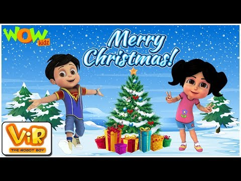 Vir: The Robot Boy | Christmas Special Compilation | Cartoon For Kids | Wowkidz