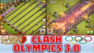 Clash of Clans - Clash Olympics 3.0! *Warden Snaps the Queen*