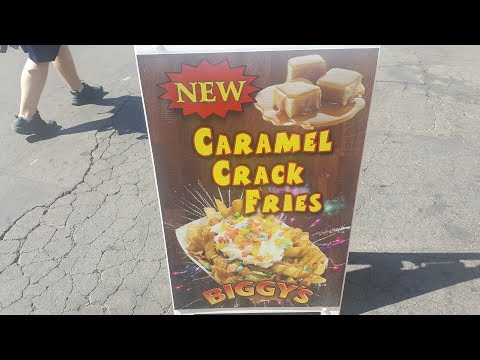Caramel Crack Fries - LA County Fair 2018