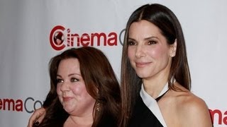 Sandra Bullock And Melissa McCarthy Take Action For Boston | POPSUGAR News