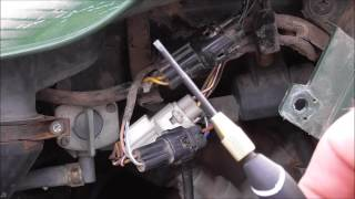 7. The simple and quick way to reset a flashing belt light on a Kawasaki ATV