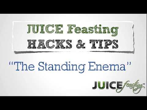 Juice Feasting Hacks: The Standing Enema