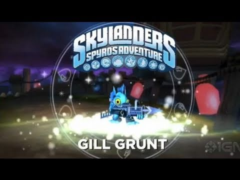 preview-Skylanders Spyro\'s Adventure: Gill Grunt Trailer (IGN)